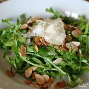 Лимонный салат с рукколой - фото шаг 9