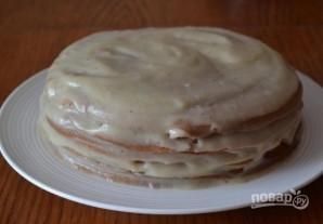 """Торт """"Минутка"""" на сковороде - фото шаг 16"""