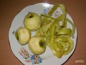 Оладьи на воде с яблоками - фото шаг 4