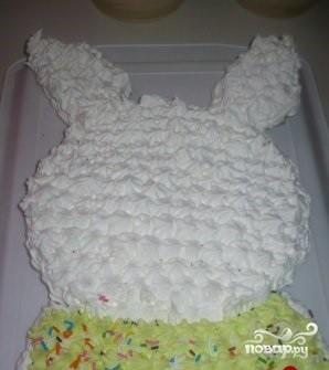 """Торт """"Зайка"""" - фото шаг 5"""
