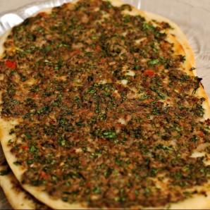 """Турецкая пицца """"Лахмакун"""" - фото шаг 15"""