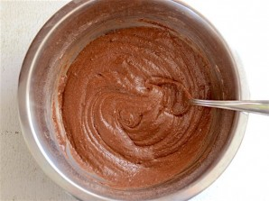 Простые шоколадные кексы - фото шаг 3