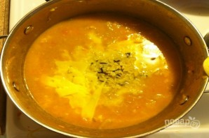 Суп из цветной капусты с рисом - фото шаг 7