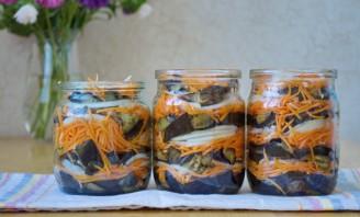 Баклажаны с морковкой на зиму - фото шаг 5
