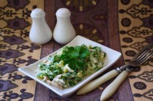 Салат с курицей и огурцом - фото шаг 6
