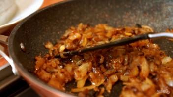 Блины с грибной начинкой и яйцами (рецепт для гурманов) - фото шаг 3
