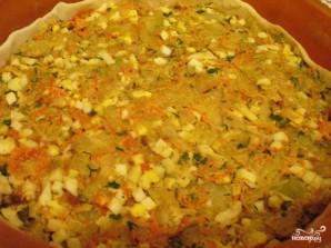 Пирог с капустой и яйцом - фото шаг 7