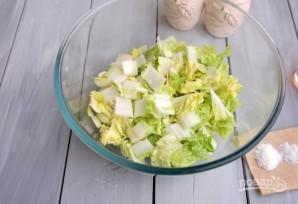 Салат из корейской капусты - фото шаг 1