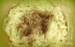 Салат зимний из огурцов - фото шаг 2