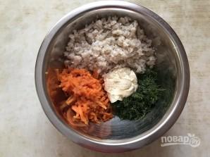 """Рыбный салат """"Раковые шейки"""" - фото шаг 7"""