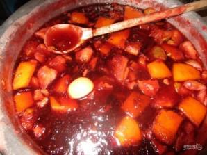Варенье из сливы, яблока и апельсина - фото шаг 5