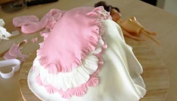 Торт на день рождения девочке 7 лет - фото шаг 4