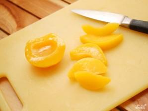 Десерт с персиками - фото шаг 1