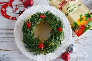 """Рождественский салат """"Венок"""" - фото шаг 5"""
