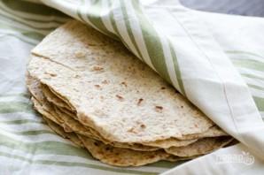 Мексиканская лепешка тортилья - фото шаг 5