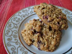 Овсяное печенье с клюквой - фото шаг 3