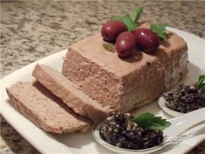 Печеночный паштет в духовке - фото шаг 4