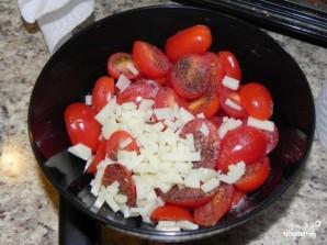 Салат с помидорами черри - фото шаг 4