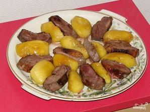 Филе утки с яблоками - фото шаг 5