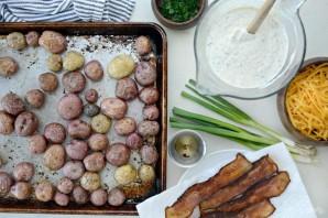 Салат из картофеля и бекона - фото шаг 2