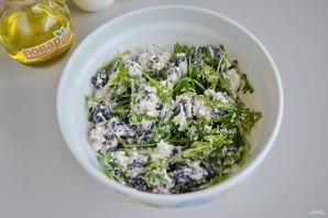 Салат из красной фасоли с творожным сыром - фото шаг 4