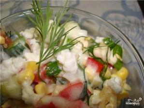 Салат из сладкой кукурузы - фото шаг 10