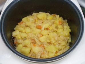 Картофельное рагу с овощами - фото шаг 7