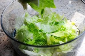 Очень вкусный слоеный салатик - фото шаг 2