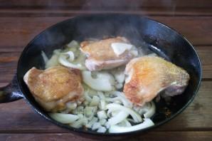 Рис с курицей и ананасами - фото шаг 6