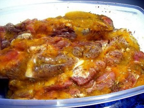 Алыча с мясом - фото шаг 2