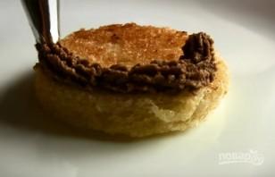 Праздничная закуска с паштетом из куриной печени - фото шаг 6