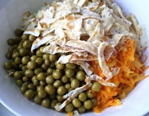 Салат с зеленой редькой - фото шаг 9