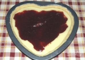 Сладкий пирог на День Святого Валентина - фото шаг 11