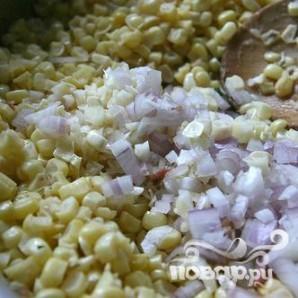 Морские гребешки со сливочной кукурузой - фото шаг 2