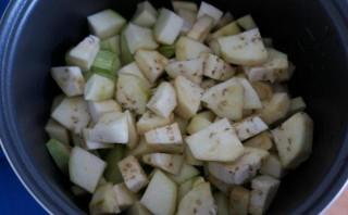 Тушеные овощи в мультиварке - фото шаг 2