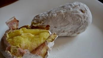 Картошка по-деревенски в микроволновке - фото шаг 3