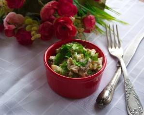 Салат оригинальный с курицей - фото шаг 5