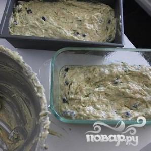 Черничный хлеб с цуккини - фото шаг 6