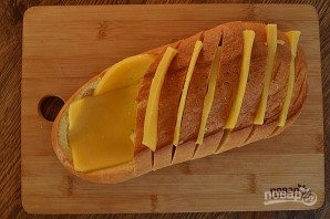 Томатный суп в хлебной лодке - фото шаг 3
