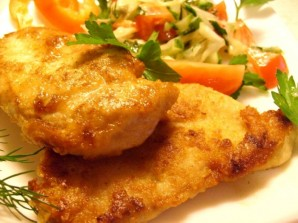 Куриный шницель с сыром - фото шаг 4