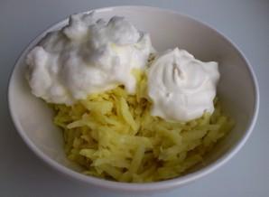 Драники с сыром - фото шаг 3