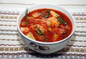 Томатный суп-пюре с курицей - фото шаг 8