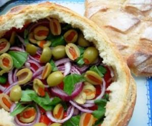 Бутерброды на пикник на природе - фото шаг 5