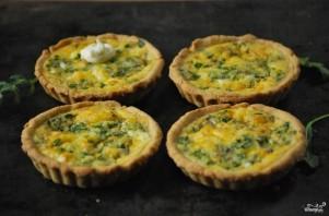 Тарталетки с творожным сыром и зеленью - фото шаг 5