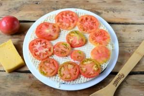 Торт из баклажанов с помидорами и сыром - фото шаг 7