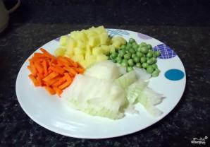 Рис с овощами в пароварке - фото шаг 2