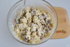 Сырные булочки с мясной начинкой - фото шаг 6