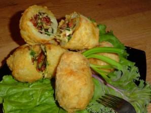 Картошка с ветчиной и сыром - фото шаг 9