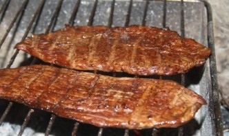 Ромштекс из говядины на гриле - фото шаг 5