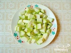 Рагу из молодых летних овощей с картофелем отварным - фото шаг 3